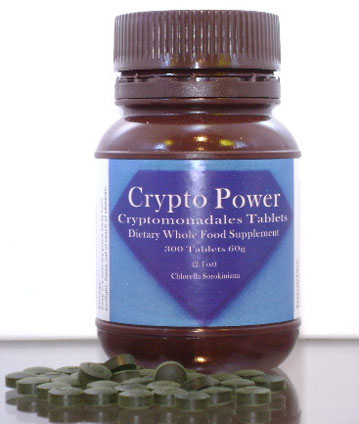 Crypto Power chlorella tablets