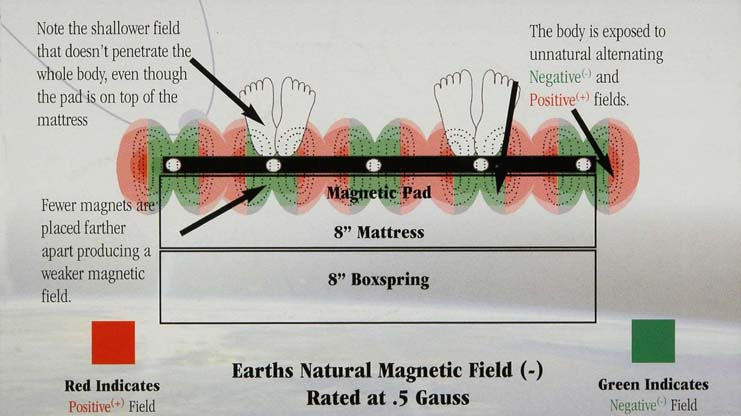 Earth's natural magnetic field